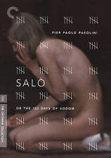 Salo, Or The 120 Days of Sodom (DVD, 2016, Criterion Collection)