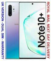 Samsung Galaxy Note 10+ Plus - 256GB - SIM Free/Unlocked Aura Glow