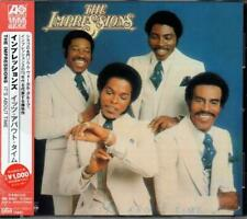 THE IMPRESSIONS It's About Time NEW & SEALED CLASSIC 70s SOUL CD (WARNER)
