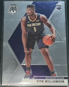 Zion Williamson 2019-20 Panini Mosaic Rookie Card (no.209)