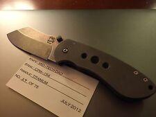 Burchtree Bladeworks DAO Titanium Custom Knife by Michael Burch