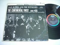 Sam Butera and the Witnesses The Continental Twist 1962 Stereo LP VG+