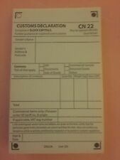 --Self Adhesive Customs Declaration CN22 ~25/50/100/150/200/250