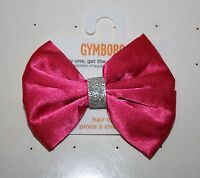 New GymboreePink Glitter Bow Barrette Clip Hair Accessory NWT Glamour Ballerina