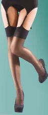 Silky Super Shine Gloss Stockings Silky One size Plain welt top 15 Denier
