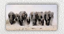 Herd Of Elephants Fridge Large Magnet -djx3Z