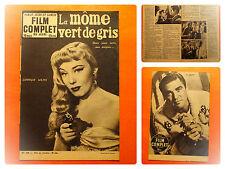 FILM COMPLET N° 448 du 25/2/1954 -La môme vert de gris -Dominique Wilms
