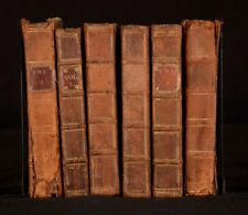 1692-94 6vols of Letters Writ By A Turkish Spy Vols I II IV V VI VII Ottoman