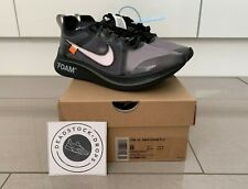 Off White Nike Zoom Fly SP Black UK 7 EU 41 BNWT 100% Authentic Trusted Seller
