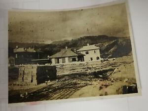 Hong Kong 1930s Kowloon Tong China Construction Site Building Rare Photograph