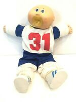 Vintage Pacifier Cabbage Patch Kid Bald Boy 1985 in Original Outfit Socks Shoes