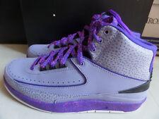 100% Auth Nike Air Jordan 2 II Retro Iron Purple Black sz 10 [385475-553] DS