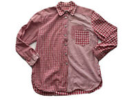 Tomato Clothing Company Womens Size S Button Up Shirt Long Sleeves Collared