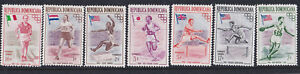 (23340) Dominican Republic MNH Olympics 1957 part set unmounted mint