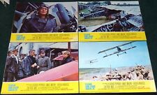 THE BLUE MAX 1966 ORIGINAL LOBBY CARD SET OF 4 GEORGE PEPPARD JAMES MASON