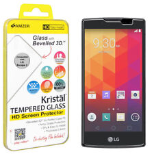 AMZER Tempered Glass HD Screen Guard Protector For LG Spirit H440N H422 C70 LTE