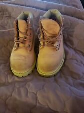 Kids Pink Timberland Boots Size 8 toddler pre-owned