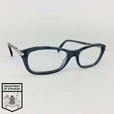 PRADA eyeglasses BLUE/BLACK LACE RECTANGLE glasses frame MOD: VPR 04P JAX-1O1