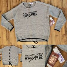 Touch: Alyssa Milano NBA San Antonio Spurs Adult Women's XL Lace Up Sweater NWT