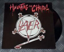 Slayer Haunting The Chapel 1st Issue Dutch '84 Original 3-track Maxi Single Rare