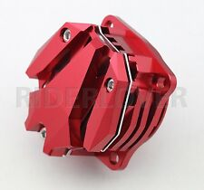 Red CNC Front Engine Head Rocker Arm Side Cap Cover For Ducati Monster 796 2013