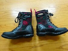 Girl's Toddler Bogs Sidney Lace Boots Size 9