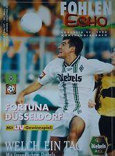 Programm 1996/97 Bor. Mönchengladbach - Fortuna Düsseldorf
