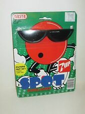 VINTAGE 1988 7UP SPOT SEVEN UP SODA AD CHARACTER NASTA CARDED NOVELTY SUNGLASSES