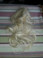 New Hair Extensions Blonde Long Wavy