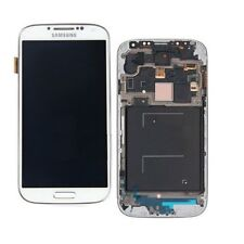 DISPLAY LCD FRAME  TOUCH SCREEN  SAMSUNG GALAXY S4 gt-i9505 white
