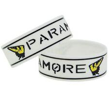 Paramore 25mm Silicon Rubber Wristband