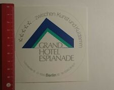 Aufkleber/Sticker: Grand Hotel Esplanade Berlin (191116138)