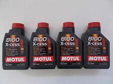 MOTUL ACEITE MOTOR COCHE 8100 X-CESS 5W-40 100% SINTÉTICO 4 L para coche FIAT