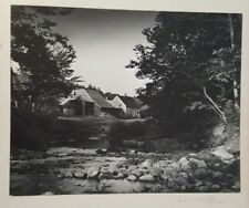 B/W, ANTIQUE Photo (Country House) by Fred E. Worthington - Signed/Circa 1960