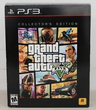 Rockstar Playstation 3 GRAND THEFT AUTO V (FIVE) Collector's Edition - Open