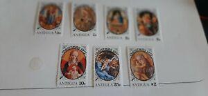 Antigua 1977Christmas Stamps Un. Mint