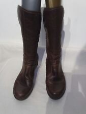Art ladies brown with faux fur size 41 ref fe01