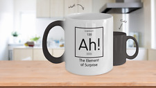 Color changing mug - Element of Surprise - Science Geek Gift, Teacher or Student