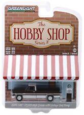 1:64 GreenLight *HOBBY SHOP 8* Brown & White 1984 GMC 2500 High Sierra Truck NIP