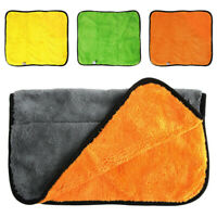 UK Auto Care Soft New Cleaning Cloths Car Wash Towel Thick Plush Microfiber