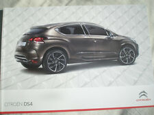 Citroen DS4 range brochure Aug 2011