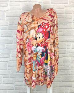 ITALY Feinstrick Tunika Long Pullover Long Shirt Pulli Kleid 42 44 46 Neu K847