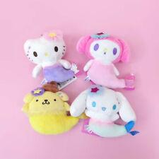 my melody Pom Pom Purin cos mermaid stuffed plush doll dolls toy bag ornament