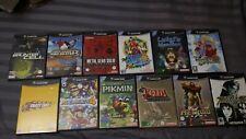 Lot de 12 Jeux Games PAL EU GameCube Luigi Zelda Mario Metal Gear Symphonia
