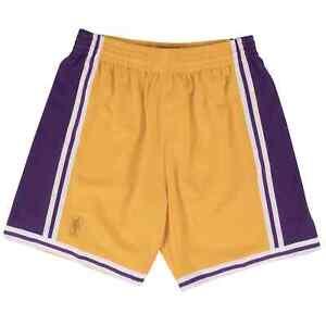Mitchell & Ness NBA Los Angeles Lakers Swingman Short Gold Basketball 1996-97