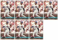 (7) 1992 Stadium Club Dome Baseball #13 George Bell Chicago Cubs Card Lot