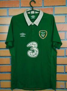 Republic Of Ireland Jersey 2014 2015 Home MEDIUM Shirt Football Soccer Umbro