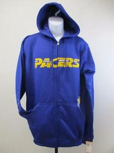 New Indiana Pacers Mens Adult Size M-L-XL-2XL-Tall Full Zip Jacket Hoodie $70