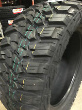 2 NEW 37x12.50R17 Kanati Mud Hog M/T Mud Tires MT 37 12.50 17 R17 10 ply