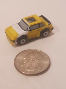 Vintage Micro Machines MR2 Private Eye Yellow and White.